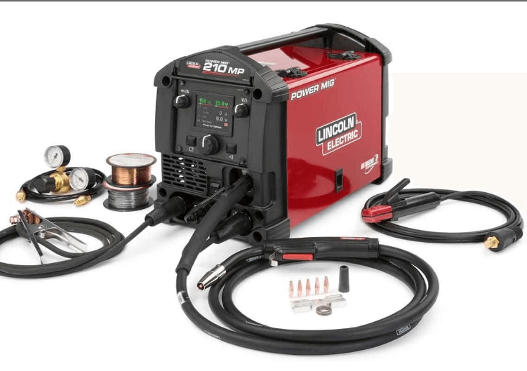 Lincoln Electric Powermig 210 Mp review