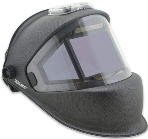 TGR Panoramic 180 View Solar Powered Auto Darkening Welding Helmet